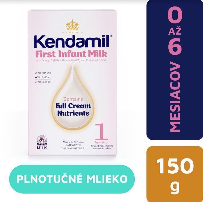 KENDAMIL Počiatočné mlieko 1 (150 g) DHA+