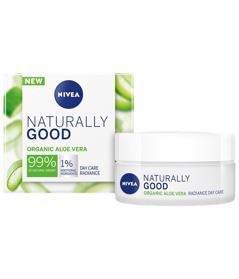 NIVEA Naturally Good Rozjasňujúci denný krém 50 ml