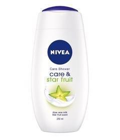 NIVEA Ošetrujúci sprchový gél Care & Star Fruit 500 ml