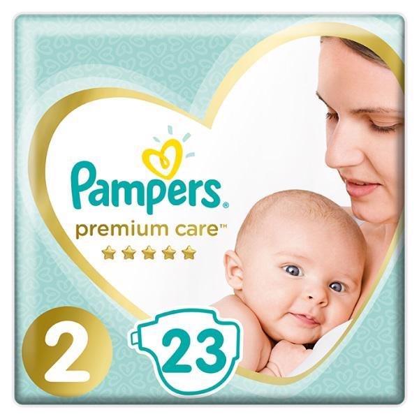 PAMPERS Plienky Premium Care 2 MINI 4-8kg 23 ks