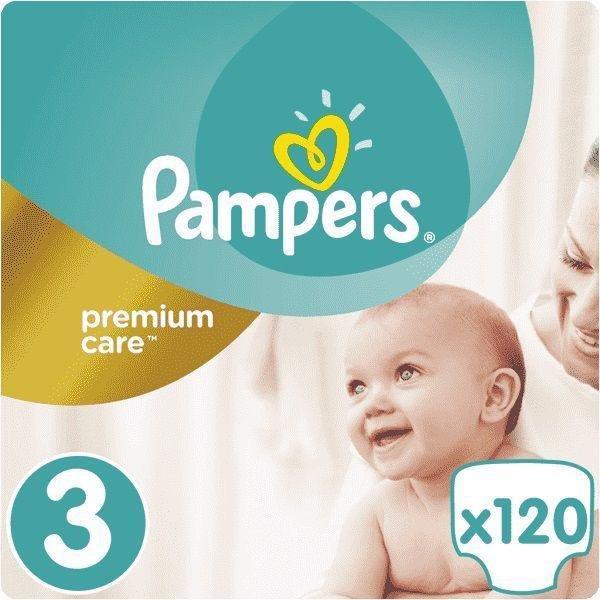 PAMPERS Plienky Premium Care 3 MIDI 6-10 kg 120 ks