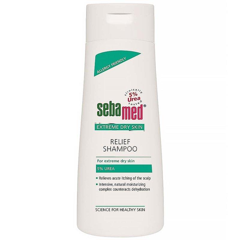 SEBAMED Urea 5% Upokojujúci šampón (200 ml)
