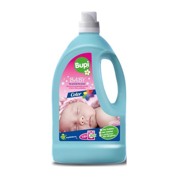 BUPI Baby Tekutý prací prostriedok Color 1,5 l (20 pd)