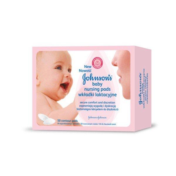Johnson's Prsné vložky - Johnson Johnson & BABY PRSNÉ VLOŽKY PRE DOJČIACE MATKY 50KS