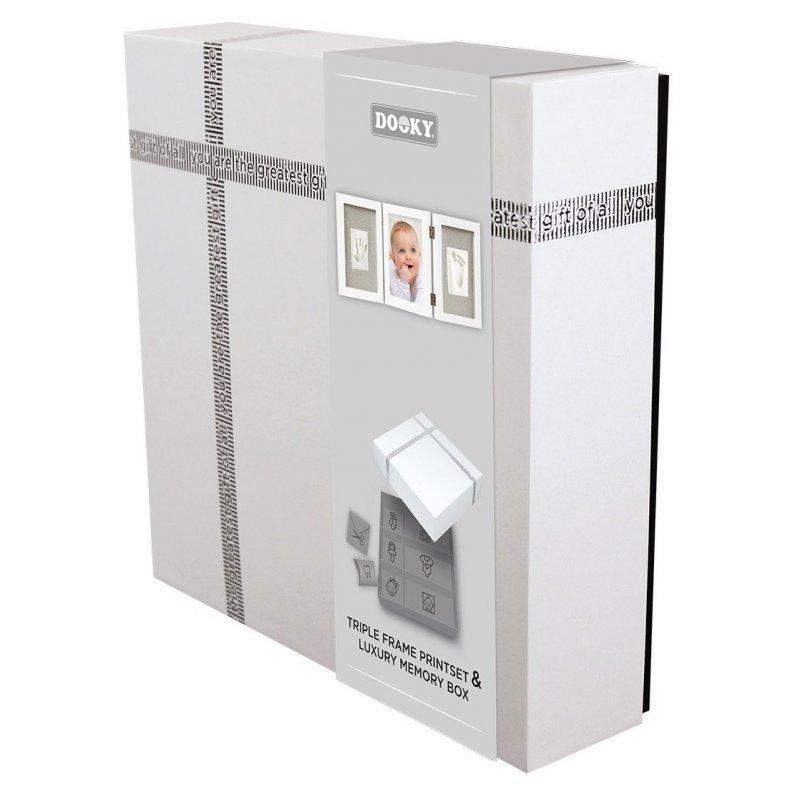 DOOKY Triple Frame Printset + Luxury Memory Box - Dooky Sada Triple Frame Printset + Luxury Memory Box