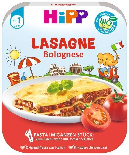 HiPP BIO Bolonskej lasagne od 1 roka, 250 g