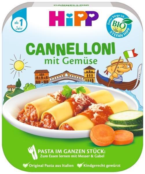 HiPP BIO Cannelloni so zeleninou od 1 roka, 250 g
