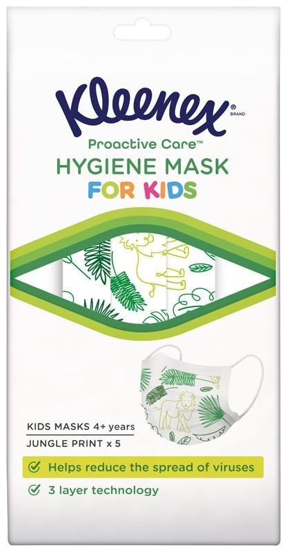KLEENEX® Ochranná tvárová maska pre deti 5 ks