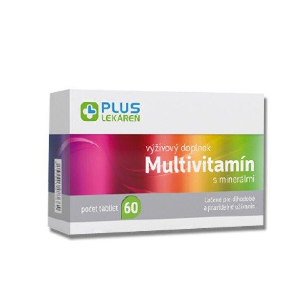 Plus Lekáreň Multivitamín s minerálmi 60 tbl
