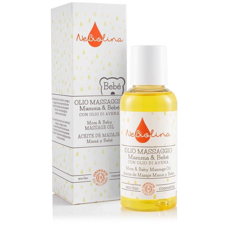 NEBIOLINA Masážny olej pre bábätká a mamičky - NEBIOLINA Masážny olej pre bábätká aj mamičky 100 ml