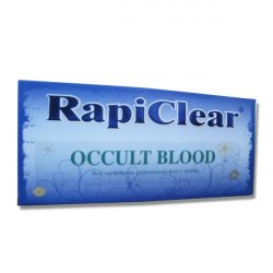 RapiClear Occult blood