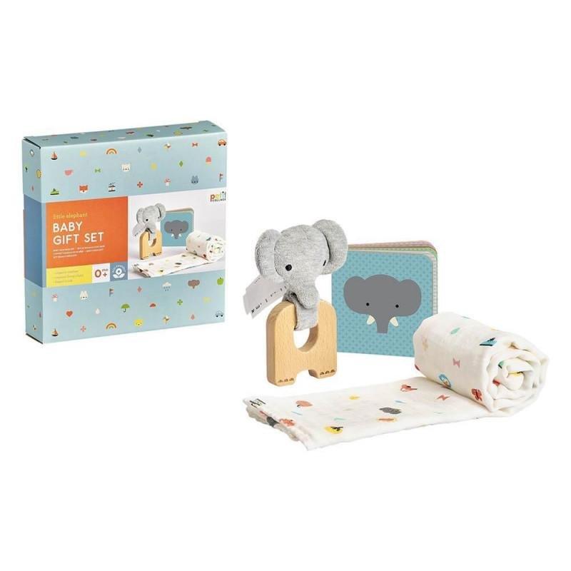 PETITCOLLAGE Darčekový set pre bábätká - slon
