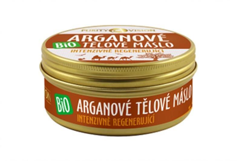 PURITY VISION Bio Arganové Telové maslo 150 ml