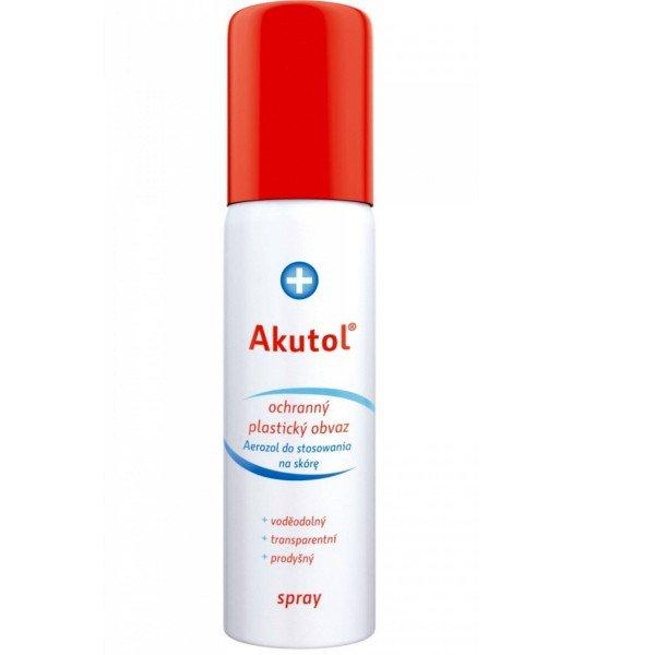 Akutol Plastický obväz 60ml - Akutol Stopjodin sprej 50 ml