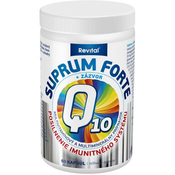 REVITAL Suprum forte Q10+zázvor 60kps