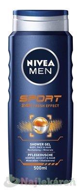 NIVEA MEN Sprchový gél SPORT - Nivea Men Sport sprchový gél 500 ml