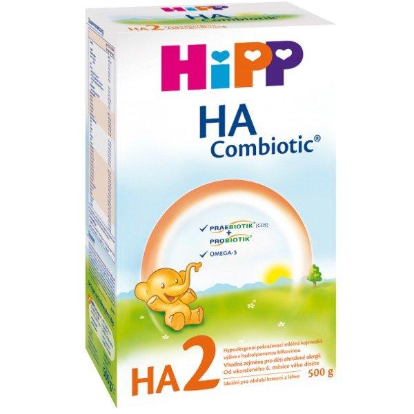 Hipp HA 2 Combiotic dojčenská výživa pokračovacia 500 g