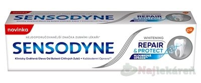 SENSODYNE REPAIR&PROTECT WHITENING - Sensodyne Repair & Protect Whitening zubná pasta pre citlivé zuby 75 ml