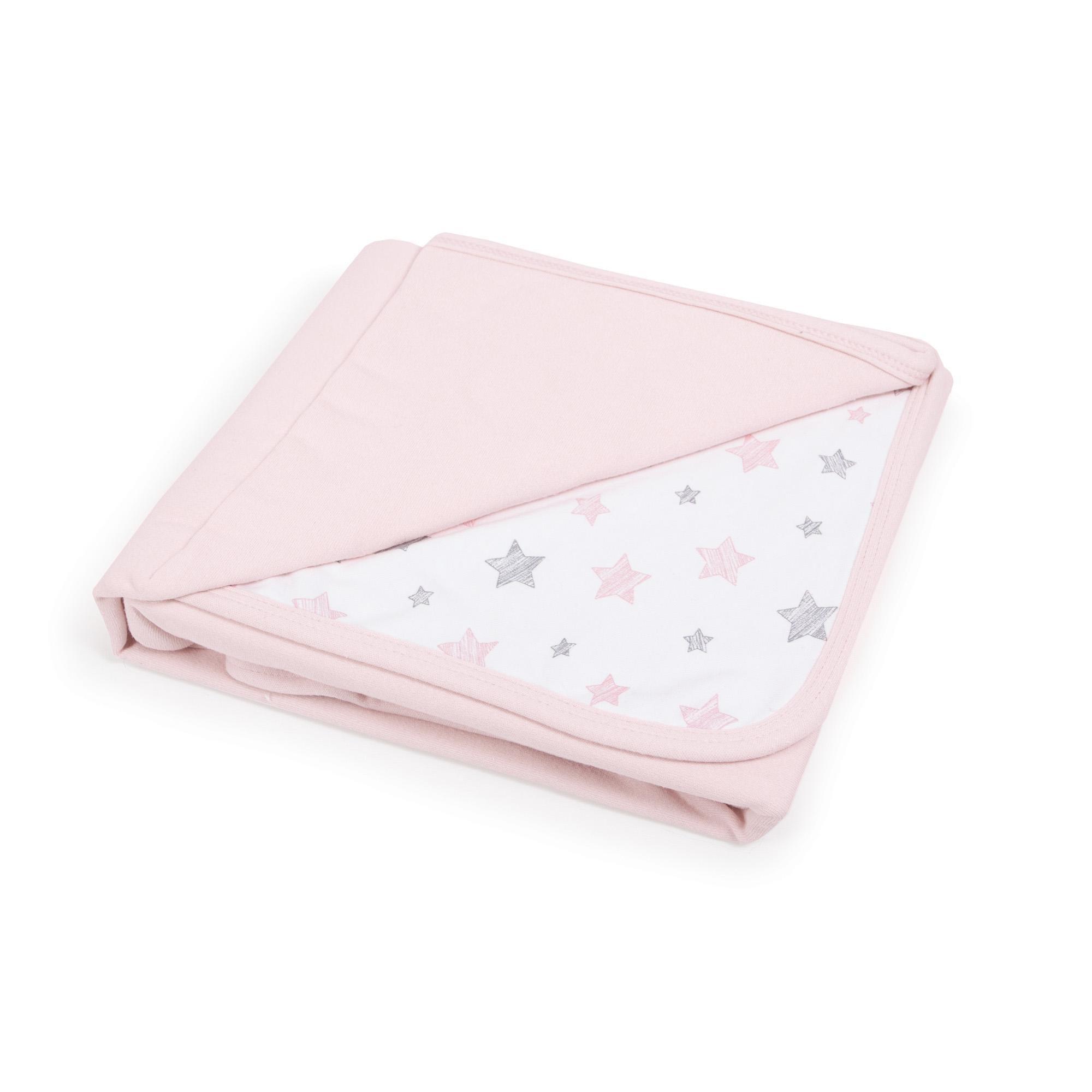 CEBA Deka detská 90x100 Candy pink+Pink Stars