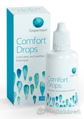 CooperVision Comfort Drops očné kvapky