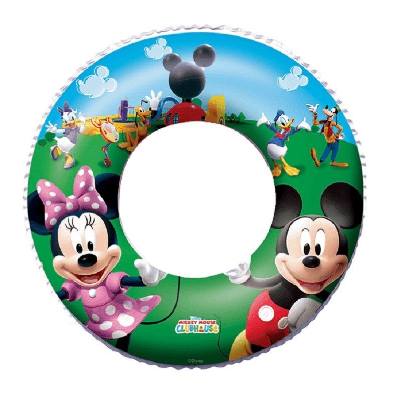 BESTWAY Koleso nafukovacie Disney Mickey Mouse a Minnie, priemer 56 cm - Bestway 91004 Mickey