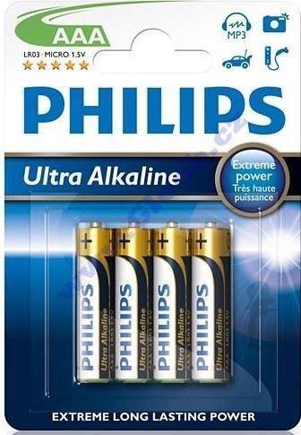 BORGY Baterky Ultra Alkaline AAA - 4ks