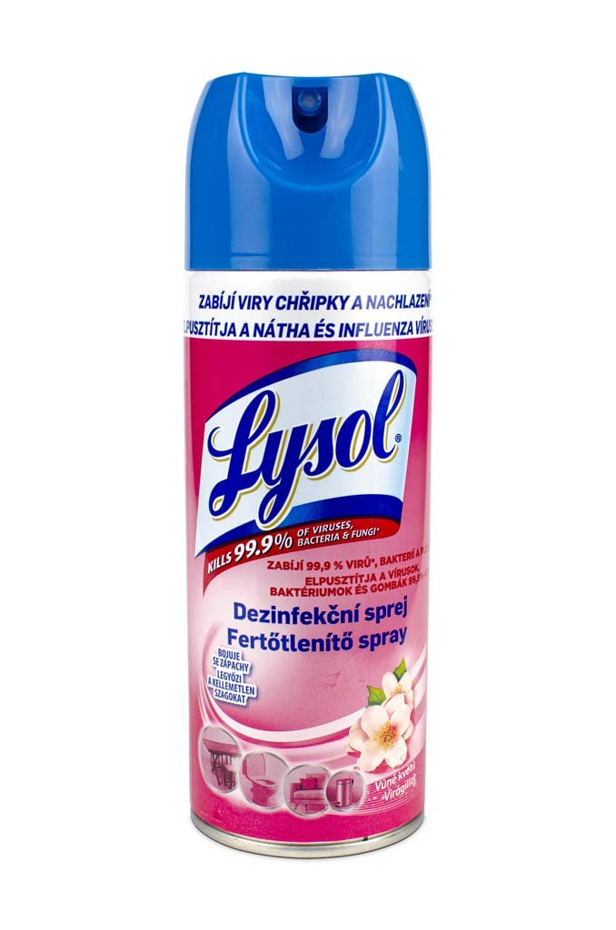 LYSOL Dezinfekčný sprej - vôňa kvetov 0,4 l