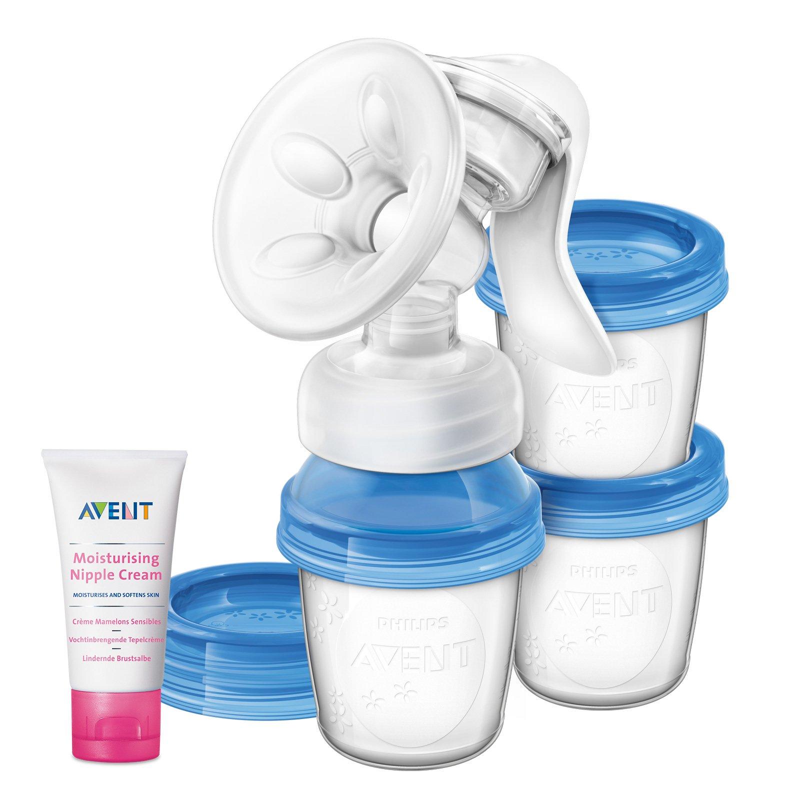Philips AVENT Odsávačka materského mlieka Natural s VIA systémem + Krém na bradavky 30 ml