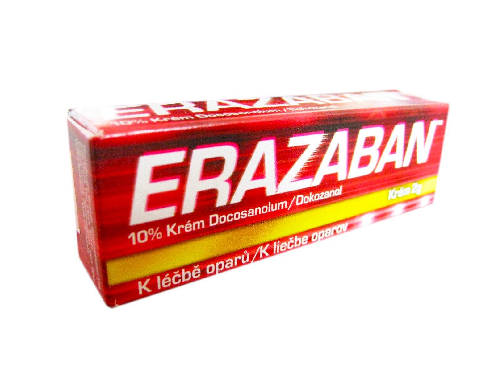 ERAZABAN krém 2g 10%