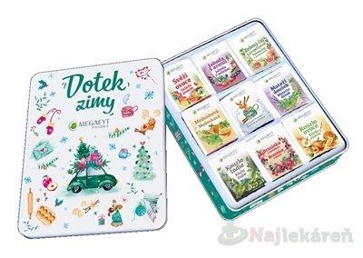 MEGAFYT Kolekcia čajov DOTYK ZIMY - Megafyt Kolekce čajů Dotek zimy plech 9 x 8 ks