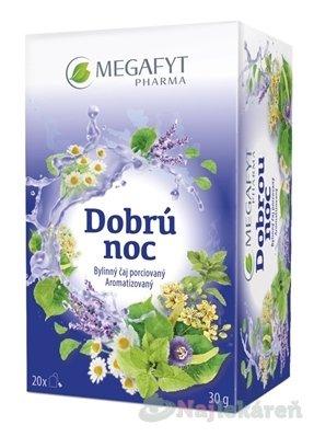 MEGAFYT Dobrú noc - Megafyt Dobrou noc 20 x 1,5 g