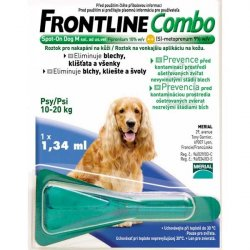 Frontline Combo spot on dog M pre psy 10-20kg 1 x…