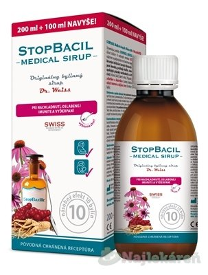 STOPBACIL Medical sirup Dr. Weiss