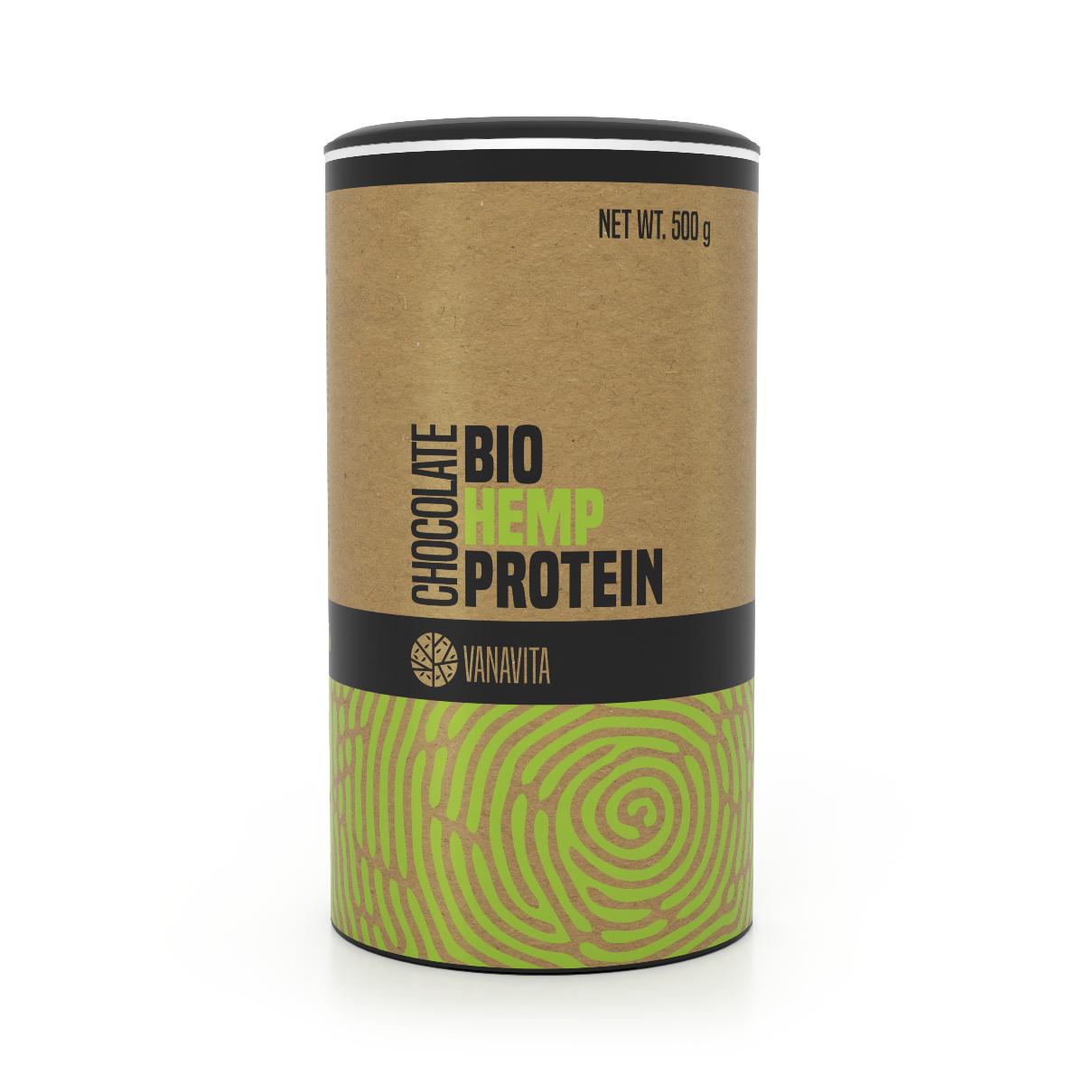BIO Konopný proteín - VanaVita - VanaVita BIO Konopný proteín 500 g