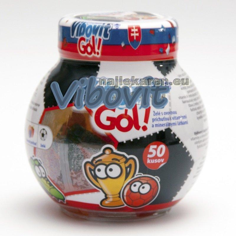 Teva pharm Vibovit GÓL želé vitamíny pre deti 225 g