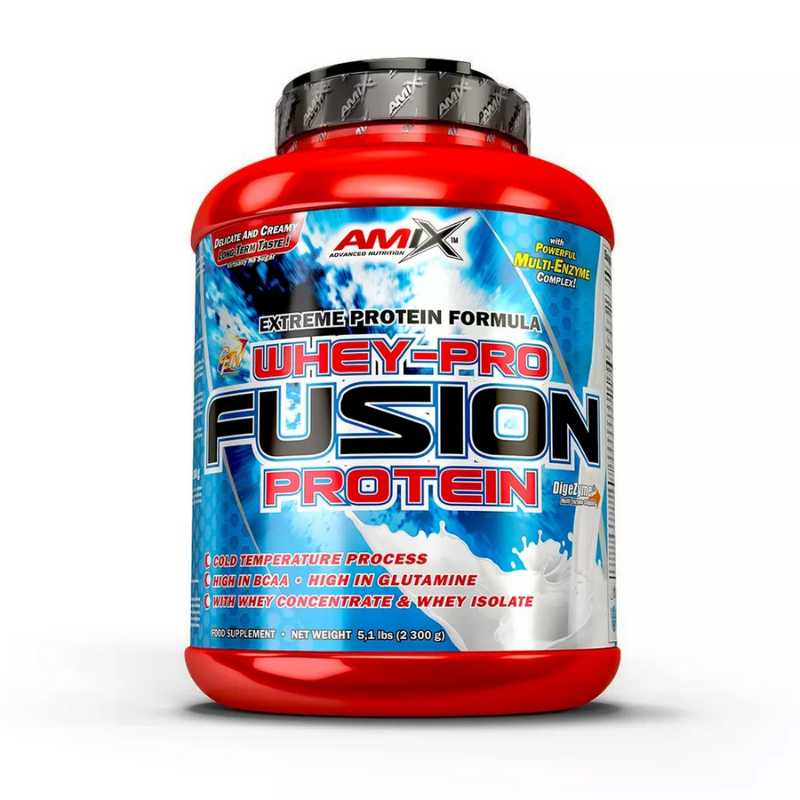 Proteín Whey-Pro Fusion - Amix - Amix Whey Pure Fusion 2300 g