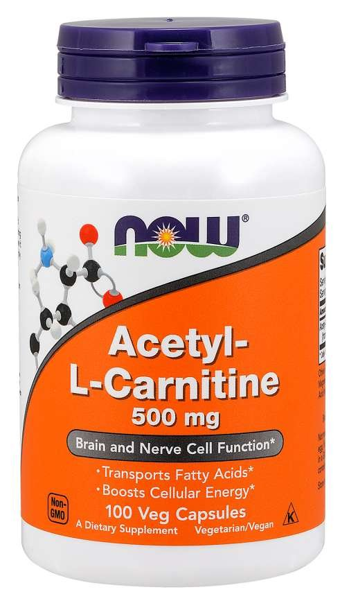 Acetyl L-Karnitín 500 mg - NOW Foods