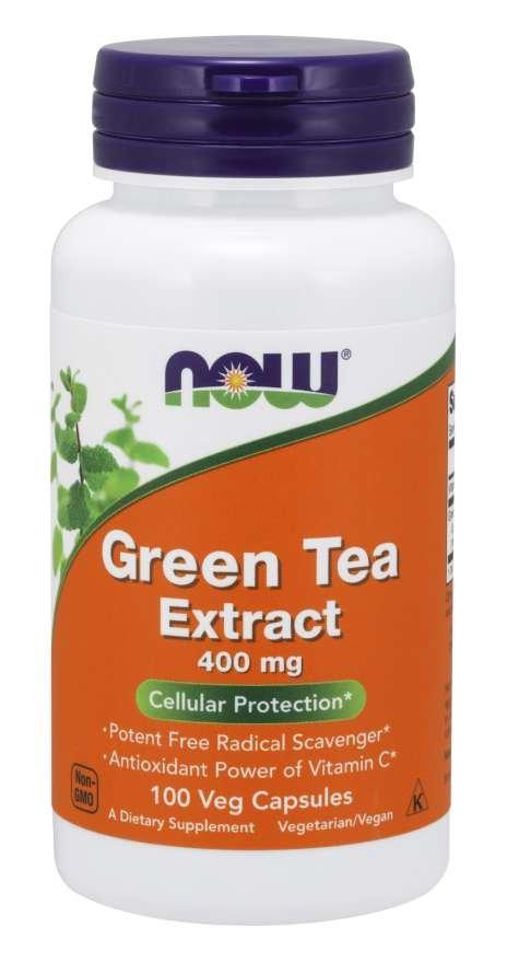 Extrakt zeleného čaju 400 mg - NOW Foods