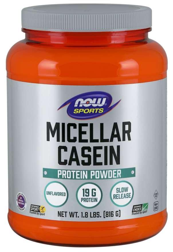 Micellar Casein - NOW Foods - NOW Foods Micellar Casein 816 g