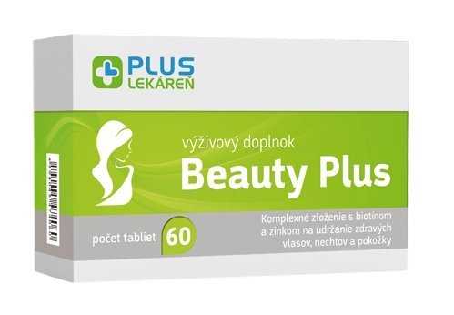 Plus Lekáreň Beauty Plus 60 tbl