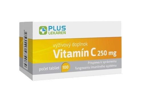 Plus Lekáreň Vitamín C 250mg 100 tbl