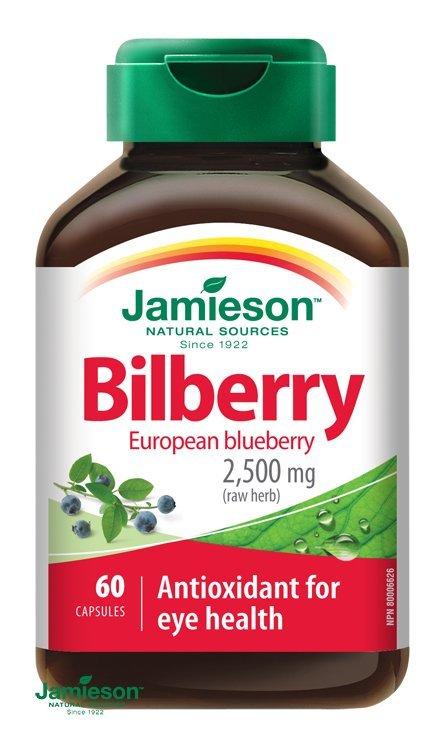 Jamieson Čučoriedky 2000 mg 60 cps.