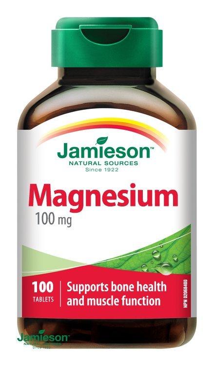 Jamieson Horčík 100 mg 100 tabliet