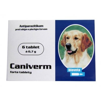 CANIVERM FORTE TABLETY 6TBL 0,7G