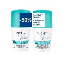 Vichy Deo Anti-traces roll-on 48h 1+1